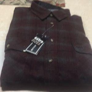 Other - David Taylor Men's Flannel Shirt Sz 2XLT NWT